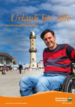 """Cover der Broschüre """"Urlaub für Alle"""""""