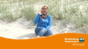 Standbild des Videos in Deutscher Gebärdensprache zur Region Usedom